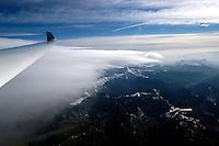 Segelflug, Segelflugzeug, über den Wolken, Welle, Lenticularis, französische Seealpen,