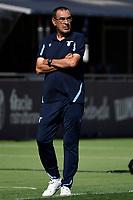 Maurizio Sarri coach of SS Lazio reacts during the Serie A football match between Bologna FC and SS Lazio at Renato Dall'Ara stadium in Bologna (Italy), October 3rd, 2021. Photo Andrea Staccioli / Insidefoto