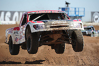 Mar. 18, 2011; Chandler, AZ, USA;  LOORRS pro 2 unlimited driver Rodrigo Ampudia during qualifying for round one at Firebird International Raceway. Mandatory Credit: Mark J. Rebilas-