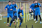 St Johnstone Training…07.04.17<br />Steven Anderson and Graham Cummins pictured during training this morning at McDiarmid Park ahead of tomorrow's trip to Inverness<br />Picture by Graeme Hart.<br />Copyright Perthshire Picture Agency<br />Tel: 01738 623350  Mobile: 07990 594431