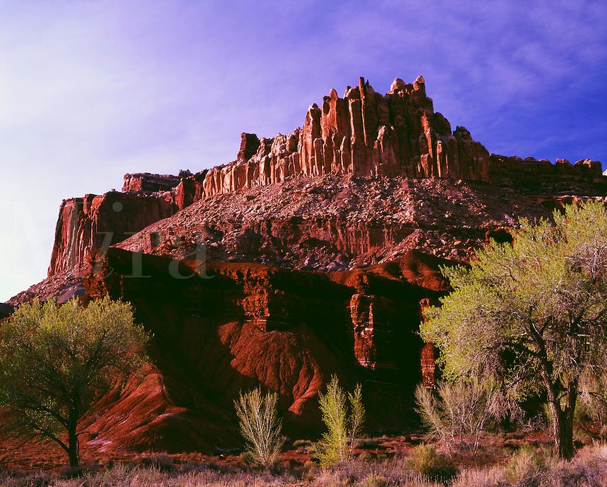 The Castle Capitol Reef National Park Utah