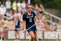 NEWTON, MA - MAY 22: Savannah Buchanan #8 of Notre Dame on field portrait during NCAA Division I Women's Lacrosse Tournament quarterfinal round game between Notre Dame and Boston College at Newton Campus Lacrosse Field on May 22, 2021 in Newton, Massachusetts.