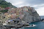 Town of Manarola in cinqueTerre Italy