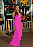 """LOS ANGELES, USA. October 11, 2019: Abigail Breslin at the premiere of """"Zombieland: Double Tap"""" at the Regency Village Theatre.<br /> Picture: Paul Smith/Featureflash"""