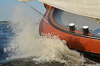 SKS Skûtsjesilen - Skûtsje Gerben van Manen Heerenveen, Jesper Hospes<br /> ©foto Martin de Jong