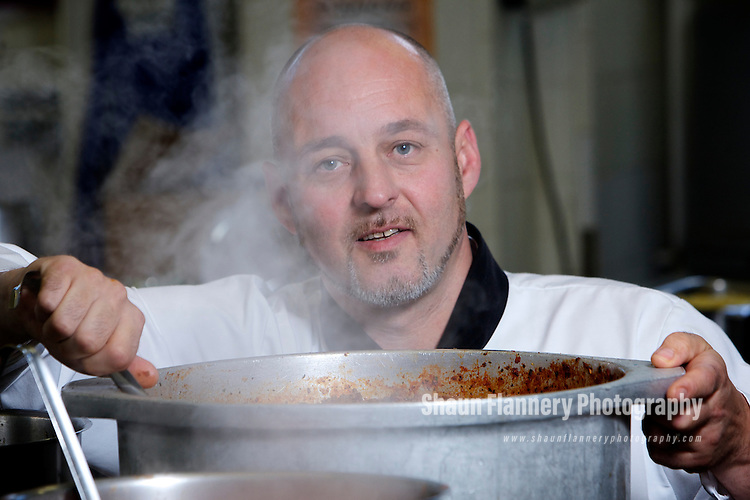 Pix: Shaun Flannery/shaunflanneryphotography.com...COPYRIGHT PICTURE>>SHAUN FLANNERY>01302-570814>>07778315553>>..24th May 2011...............Peter Bartholdy, Head Chef, Springboard Ambassador, Doncaster Deaf Trust.