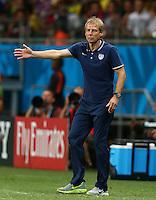 USA coach Juergen Klinsmann gestures on the touchline