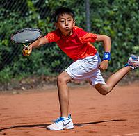 Hilversum, Netherlands, August 7, 2017, National Junior Championships, NJK, Jerry Wang<br /> Photo: Tennisimages/Henk Koster