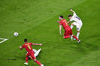 2nd July 2021; Allianz Arena, Munich, Germany; European Football Championships, Euro 2020 quarterfinals, Belgium versus Italy; Goal scored for 1-0 from Nicolo Barella