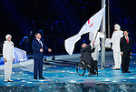Sochi, RUSSIA - Mar 16 2014 - Closing Ceremonies at the 2014 Paralympic Winter Games in Sochi, Russia.  (Photo: Matthew Murnaghan/Canadian Paralympic Committee)