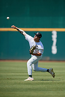 Matt Clark (2) of Damien High School in Upland, CA during the Perfect Game National Showcase at Hoover Metropolitan Stadium on June 19, 2020 in Hoover, Alabama. (Mike Janes/Four Seam Images)