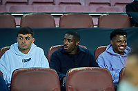 20th September 2021; Nou Camp, Barcelona, Spain; La Liga football league, FC Barcelona versus Granada CF;  Pedri, Ousmane Dembele and Ansu Fati of FC Barcelona start on the bench during the Liga match between FC Barcelona and Granada CF .