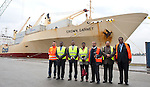 150922: Port of Antwerp, unloading of haitian banana