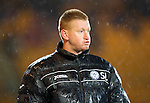 St Johnstone v Aberdeen...13.12.11   SPL .Not Steve Lomas's night.Picture by Graeme Hart..Copyright Perthshire Picture Agency.Tel: 01738 623350  Mobile: 07990 594431