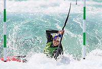 Jessica Fox, Australia, K1 Oceania Canoe Slalom Championships, Whero Whitewater Park, Auckland, New Zealand, 1st February 2020. Photo: Simon Watts/www.bwmedia.co.nz