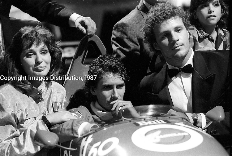 Montreal (Qc) Canada - June 9 1987 - Launch of '' Formula Un'' France -Quebec coprodudec TV serie -