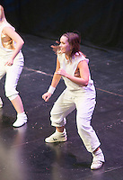 """Hannah Greenslade from the Flight Dance Company, performing.   Special Olympics Surrey put on a show,   """"Beyond the Stars"""", at the Rose Theatre, Kingston upon Thames to raise money for the  SOGB team.  The Special Olympics are for athletes with learning disabilities."""