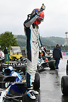 28th August 2021; Spa Francorchamps, Stavelot, Belgium: FIA F1 Grand Prix of Belgium, qualifying sessions;  F1 Grand Prix of Belgium 63 George Russell GBR, Williams Racing