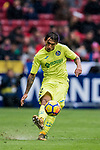 Damian Nicolas Suarez Suarez of Getafe CF in action during the La Liga 2017-18 match between Atletico de Madrid and Getafe CF at Wanda Metropolitano on January 06 2018 in Madrid, Spain. Photo by Diego Gonzalez / Power Sport Images