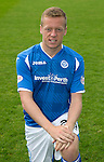 St Johnstone FC Photocall, 2015-16 Season....03.08.15<br /> Scott Brown<br /> Picture by Graeme Hart.<br /> Copyright Perthshire Picture Agency<br /> Tel: 01738 623350  Mobile: 07990 594431