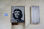 El Che is everywhere ! (here on the wall of a game room in Santiago