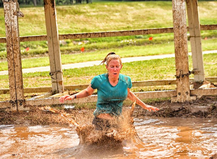 mud jump