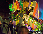 The Krewe du Vieux parades through the New Orleans French Quarter as one of the first parades of the 2011 Carnival season. All images were captured using available light or in some instances, no light.