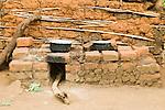 Firewood efficient oven, Bigodi, western Uganda