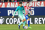 FC Barcelona's midfielder Andre Gomes and Atletico de Madrid's midfielder Gabi Fernandez (R) competes for the ball with  during the match of Copa del Rey between Atletico de  Madrid and Futbol Club Barcelona at Vicente Calderon Stadium in Madrid, Spain. February 1st 2017. (ALTERPHOTOS/Rodrigo Jimenez)