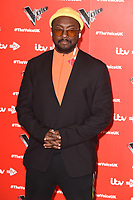 """Will.i.am<br /> at the launch photocall for the 2019 series of """"The Voice"""" London<br /> <br /> ©Ash Knotek  D3468  03/01/2019"""
