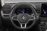 Car pictures of steering wheel view of a 2021 Renault Arkana Intens 5 Door SUV Steering Wheel