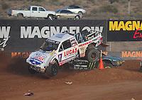 Dec. 11, 2011; Chandler, AZ, USA;  LOORRS pro 2 driver Carl Renezeder during the Lucas Oil Challenge Cup at Firebird International Raceway. Mandatory Credit: Mark J. Rebilas-