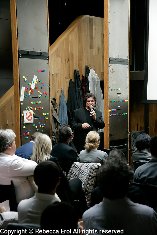 Turkish architect Emre Arolat lectures at the London Festival of Architecture, 2012