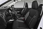 Front seat view of a 2018 Renault Alaskan Foraker 4 Door Pick Up front seat car photos