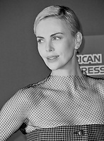 PALM SPRINGS03, 2020: Charlize Theron at the 2020 Palm Springs International Film Festival Film Awards Gala.<br /> Picture: Paul Smith/Featureflash<br /> ***Converted to black & white***