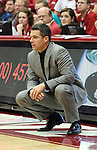 Tony Bennett, Head Basketball Coach at Washington State University, watches the action during a game on November 21, 2008, in Pullman, Washington, against Sacramento State.  The Cougars played their signature style of defense under Coach Bennett as they rolled to a 76-55 victory at Friel Court.