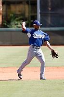 Ivan DeJesus - Los Angeles Dodgers 2009 Instructional League. .Photo by:  Bill Mitchell/Four Seam Images..