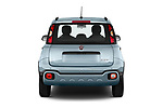 Straight rear view of 2020 Fiat Panda-Cross Launch-Edition 5 Door Hatchback Rear View  stock images