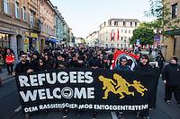 2015/07/31 Freital | Antirassitische Demonstration gegen Rechte