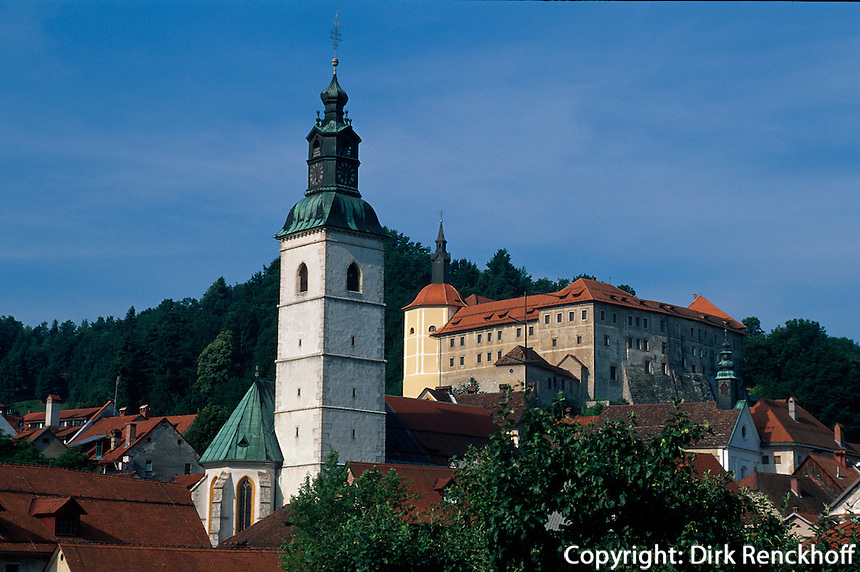 Slowenien, Skofja Loka.