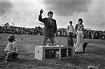 Terrier races Egremont Cumbria UK 1975