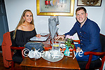 Enjoying the evening in Allo's Restaurant in Listowel on Thursday, l to r: Michelle Kennelly and Ger Fogarty from Moyvane.