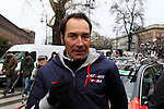 Former champion sprinter Eric Zabel (GER) at the start of the 104th edition of the Milan-San Remo cycle race at Castello Sforzesco in Milan, 17th March 2013 (Photo by Eoin Clarke 2013)