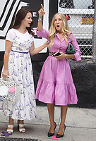 NEW YORK, NY- July 20: Kristin Davis and Sarah Jessica Parker on the set of the HBOMax Sex And The City reboot series And Just Like That on July 20, 2021 in New York City. <br /> CAP/MPI/RW<br /> ©RW/MPI/Capital Pictures