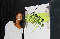 10-18-11 Renee Elise Goldsberry & cast - Love's Labor's Love - Public Theatre, NYC, NY