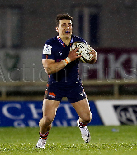 13th March 2021; Galway Sportsgrounds, Galway, Connacht, Ireland; Guinness Pro 14 Rugby, Connacht versus Edinburgh; Damien Hoyland with the ball for Edinburgh