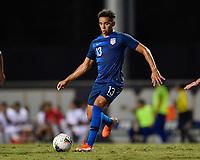 Miami, FL - Tuesday, October 15, 2019:  Hassani Dotson #13 during a friendly match between the USMNT U-23 and El Salvador at FIU Soccer Stadium.