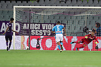 Erick Pulgar of Fiorentina scores a goal<br /> Firenze 24-8-2019 Stadio Artemio Franchi <br /> Football Serie A 2019/2020 <br /> ACF Fiorentina - SSC Napoli <br /> Photo Cesare Purini / Insidefoto