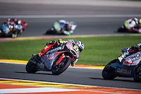 VALENCIA, SPAIN - NOVEMBER 8: Sandro Cortese during Valencia MotoGP 2015 at Ricardo Tormo Circuit on November 8, 2015 in Valencia, Spain