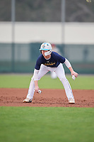 Nathan Norris (64), from Frisco, Texas, while playing for the Padres during the Baseball Factory Pirate City Christmas Camp & Tournament on December 30, 2017 at Pirate City in Bradenton, Florida.  (Mike Janes/Four Seam Images)